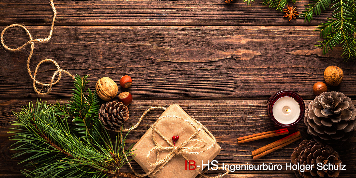 Weihnachtsgrüße des IB-HS in Erfurt